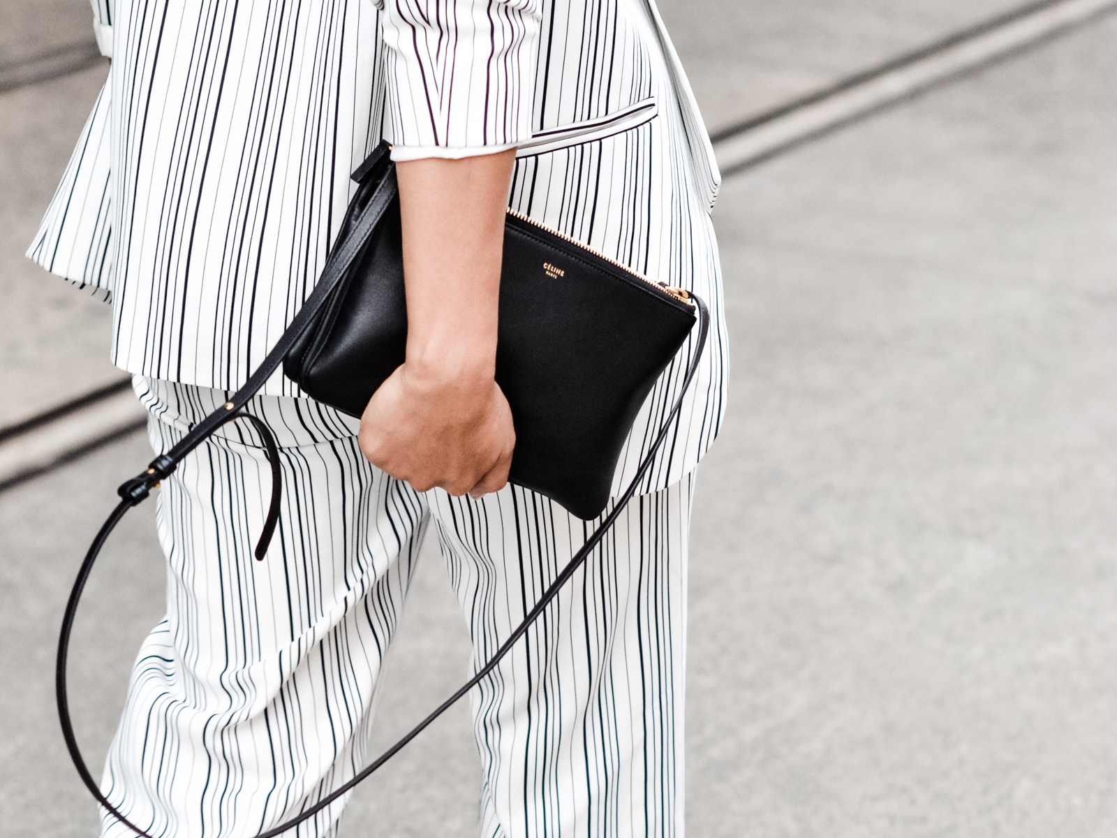 celine small trio crossbody bag