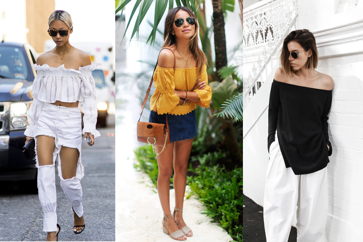 Blogger Style Watch The Off Shoulder Top Beige Renegade