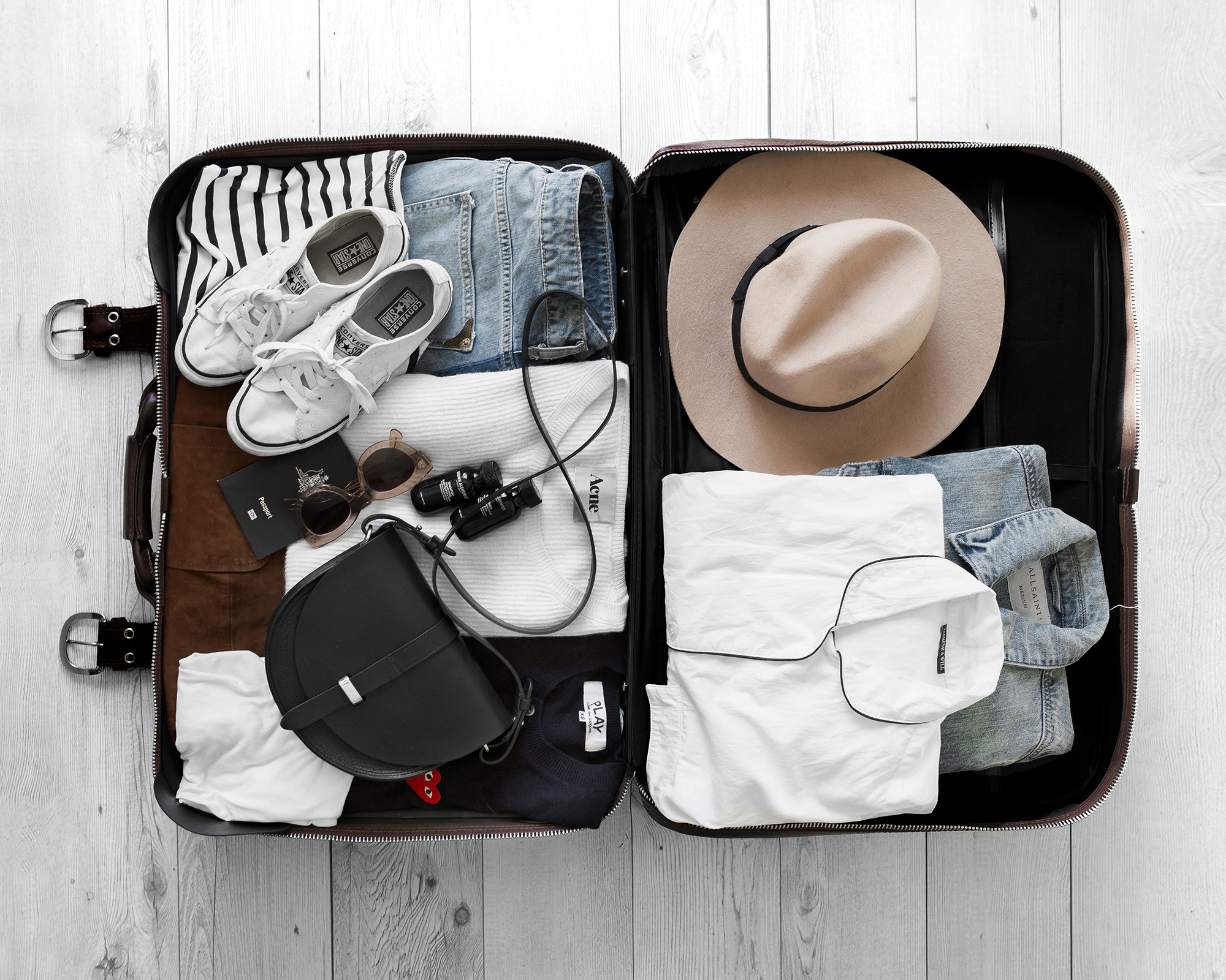 how to pack neckties for travel